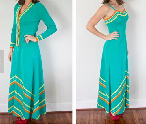 1970s Dress