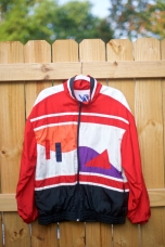 1990s Retro Vintage Windbreaker