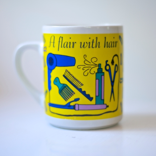 Vintage Hair Dresser Stylist Mug