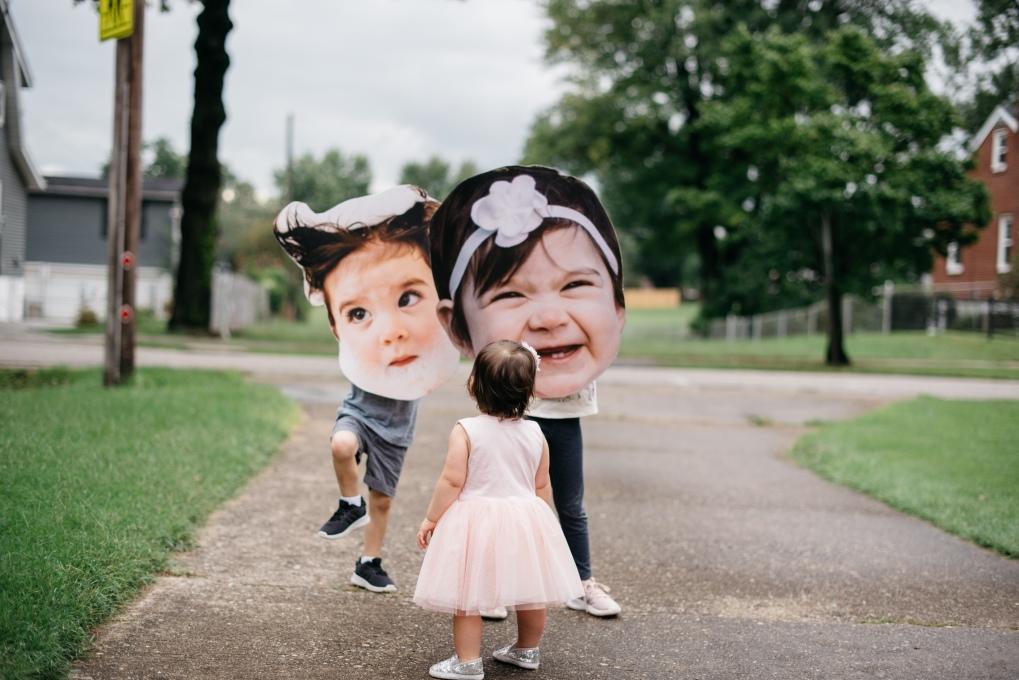 DIY Big Face Poster